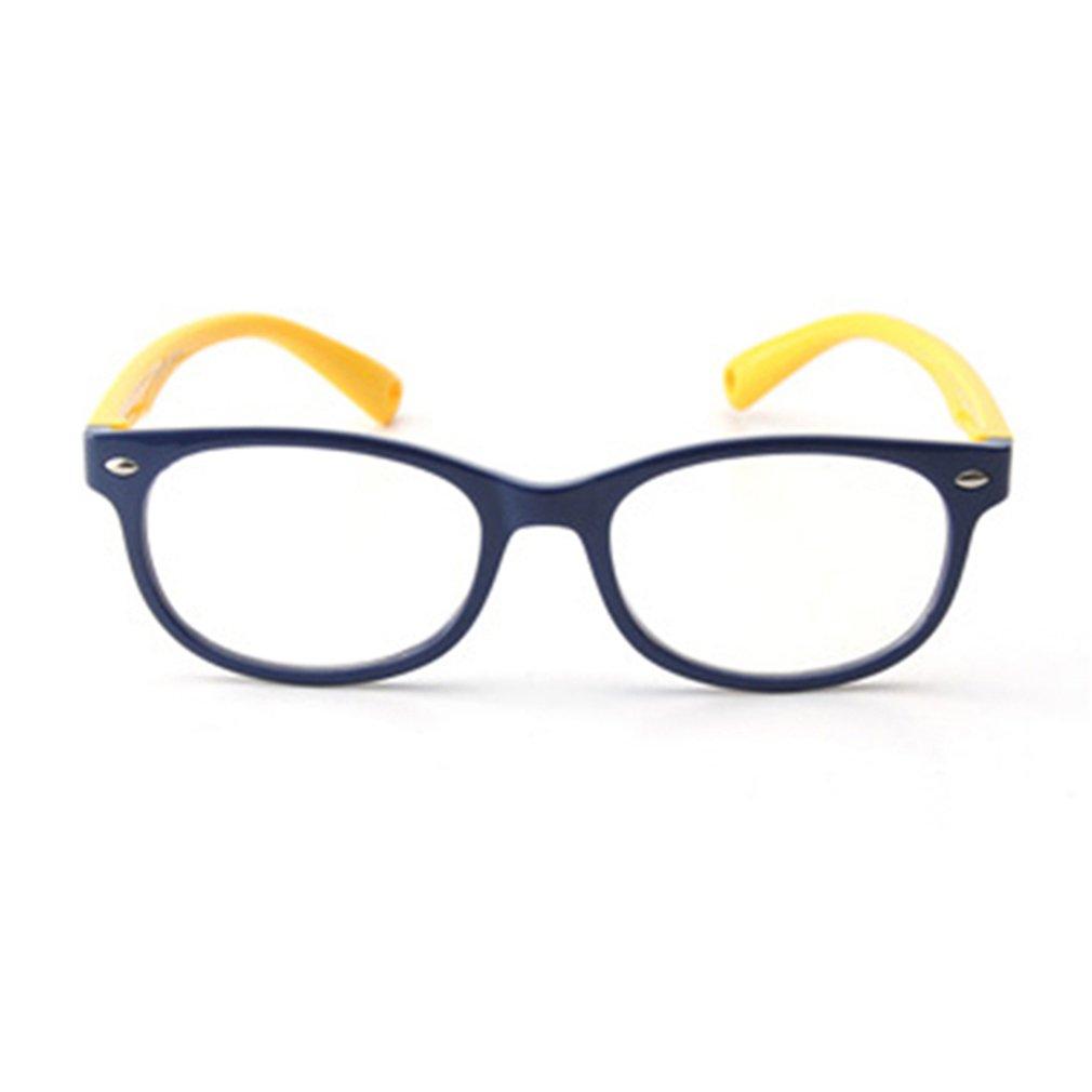 Junkai Mädchen Jungen Silikon Klare Linse Brillengestell + Auto Form ...