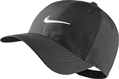 Nike Unisex Legacy 91 Tech Cap Dark Grey/White,One (Legacy Sports Hat)