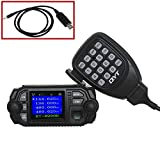 QYT KT-8900D 25W/20W UHF/VHF Two-Way Radios Dual Band Car Radios Quad-Standy Walkie Talkie with Mini Color Screen / Extra Speaker / USB Programming Wire (Version 1)