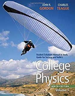 Amazon college physics volume 1 8583988888881 raymond a student solutions manual with study guide volume 1 for serwayfaughnvuilles college fandeluxe Choice Image