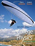 Student Solutions Manual with Study Guide, Volume 1 for Serway/Faughn/Vuille's College Physics, 9th
