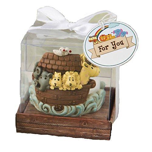 FASHIONCRAFT 20 Noah's Arc Themed Tea Light Holder Baby Shower Christening Baptism - Noahs Ark Light