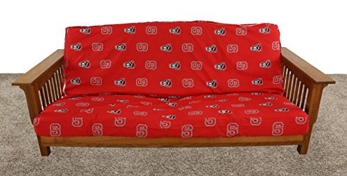 College Covers North Carolina State Wolfpack Futon Lounge Cover, Full by College Covers (Image #1)