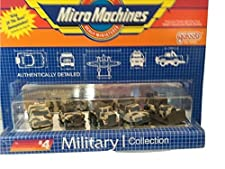 Micro Machines Military I #4 B Collection by Galoob MicroMachines