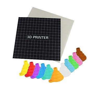 Fellibay - Adhesivo 3D para impresora (220 x 220 mm, 235 x 235 mm ...