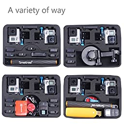 Smatree SmaCase G260SL Carrying Case for Gopro Hero 5/4/3+/3/2/1(Cameras and Accessories NOT included)