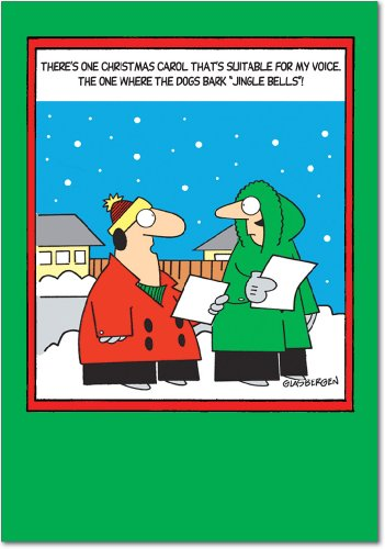 B5865 Jingle Christmas Greeting Envelopes