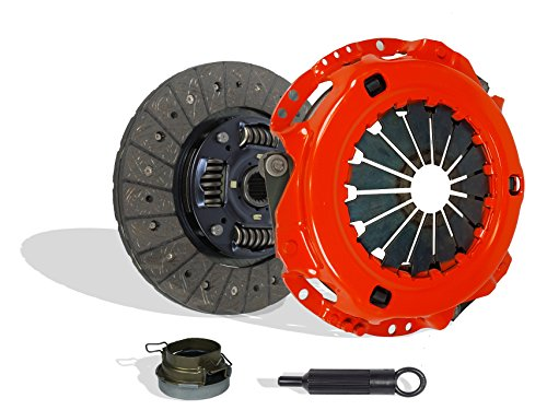 Clutch Kit Works With Toyota Previa Tacoma DX LE Mini Passenger Van DLX Standard Extended Cab Pickup 1991-2004 2.4L l4 GAS DOHC Naturally Aspirated (Stage 1; Vin A 2Tzfe; 2Wd; 4Wd)