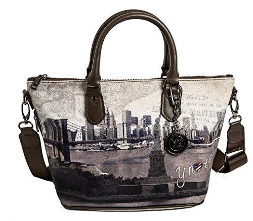 G Shopping Taupe Island Borsa 395 New Bag Metal Gun Liberty S York Bn6vU