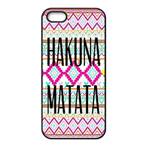 iPhone 5, 5S Phone Case Hakuna Matata P78K789256