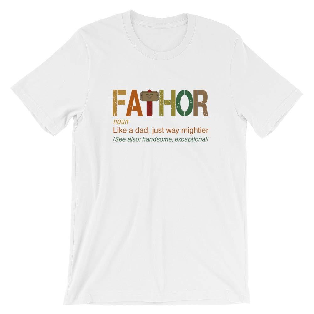 Fathor Like Dad Just Way Mightier Shirt Unisex Shirt