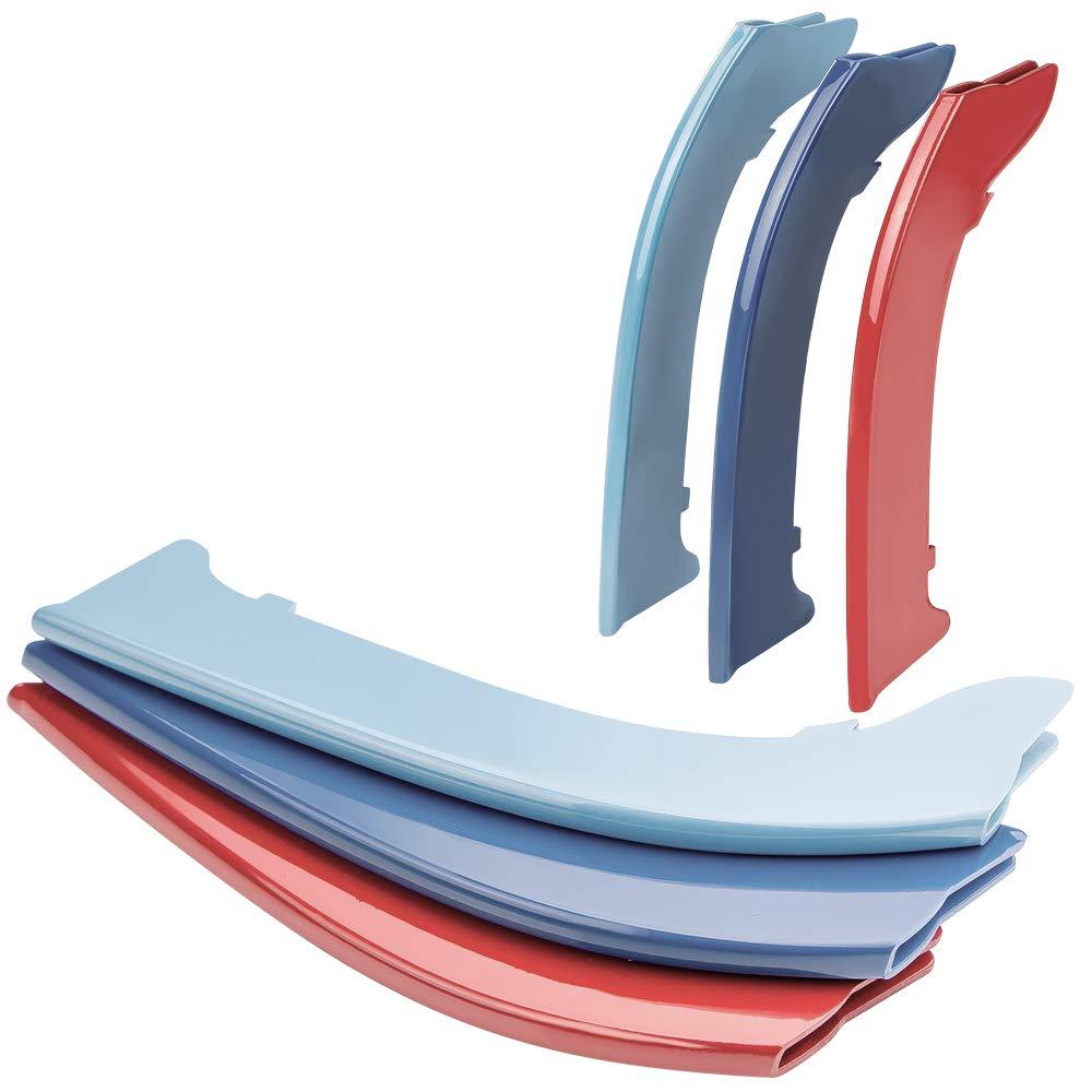 M-Color ABS Grill Streifen Eins/ätze Nierengitter E90 E91 3er LCI 2009-12 -12 Beams