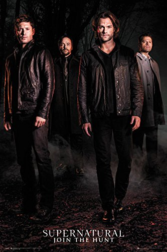 Supernatural Show Poster Guys Season product image