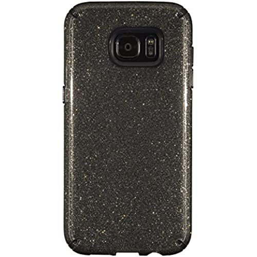 Speck Products CandyShell Cell Phone Case for Samsung Galaxy S7 Edge - Retail Packaging - Obsidian Gold/Black Sales