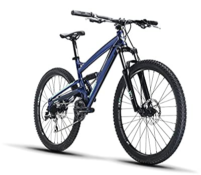 "Diamondback Bicycles Diamondback Bikes Atroz 1 Full Suspension Mountain Bike 16"" Frame"