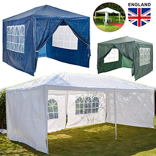 Party Tent Outdoor Garden Gazebo | Waterproof UV-Protect Large Tent Gazebo Canopy | Camping Event Shelter Tent with…