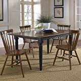 Bundle-21 Creations II Casual Dining Set (7 Pieces) Finish: Tobacco