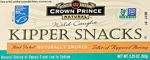 Kipper Snacks (Crown Prince Kipper Snack, 3.25 oz)