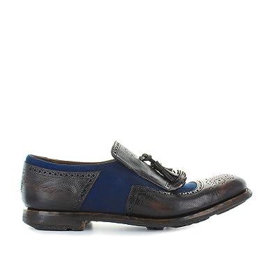 Men's Shoes Shanghai 11 Ebony Navy Moccasin Spring Summer 2018