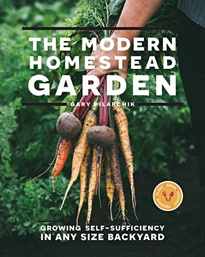 Book Cover: The Modern Homestead Garden: Growing Self-sufficiency in Any Size Backyard