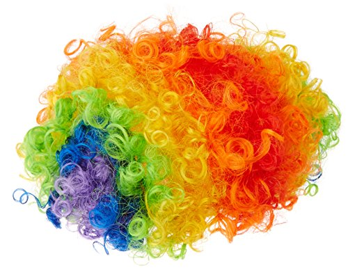 Bozo The Clown Wig (Beistle 60273 Rainbow Clown)
