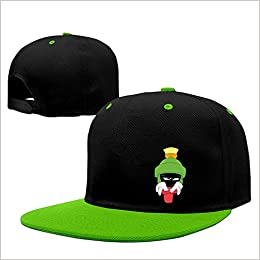 7bb612ee0dd Amazon.com  Marvin The Angry Martian Cartoon Role Hiphop Hats Caps  KellyGreen  Books