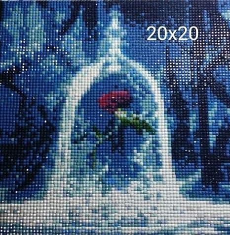 Pintura de diamantes 5D con personajes de princesas Disney para ...
