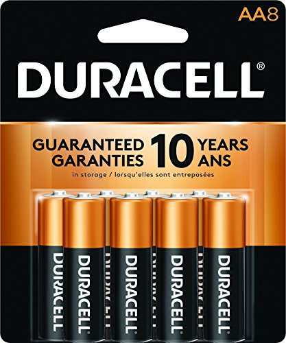 Duracell Coppertop AA Batteries 8 CT