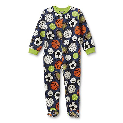Joe Boxer Infant & Toddler Boys' Footed Sleeper Pajamas - Sporting Goods 2T