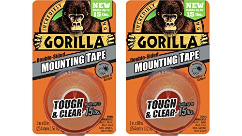 gorilla-6065001-2-double-sided-tough-and-clear-mounting-tape-2-pack-1-x-60-clear