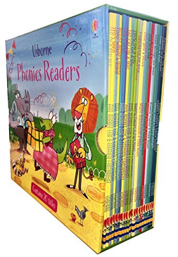 Usborne Phonics Readers 20 Books Collection Box -