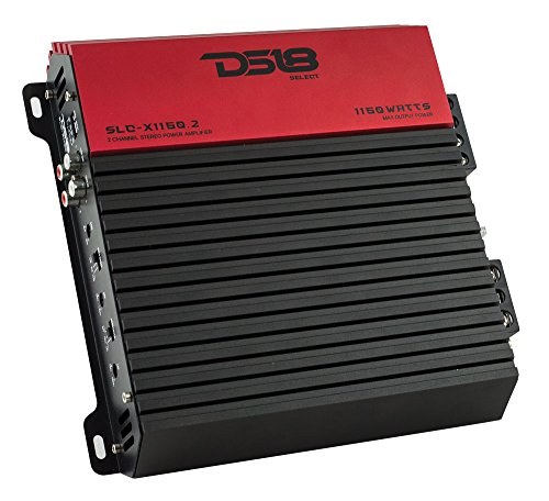 DS18 SLC-X1150.2 Select Series 2 Channel Class Ab Monoblock Amplifier - 1150 Watss Max Power