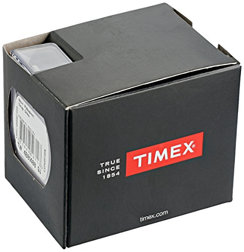 Timex Unisex TW2R63100 Weekender Brown/Black Leather Slip-Thru Strap Watch