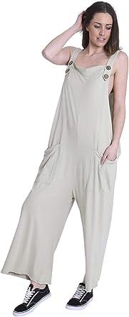 Wash Clothing Company Mujer - Mono de Algodón - Corte Holgado ...