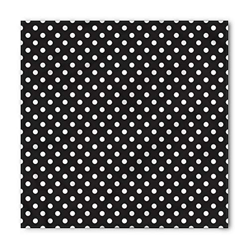 Ambesonne Dots Bandana, Traditional Dots, Unisex Head and Neck Tie