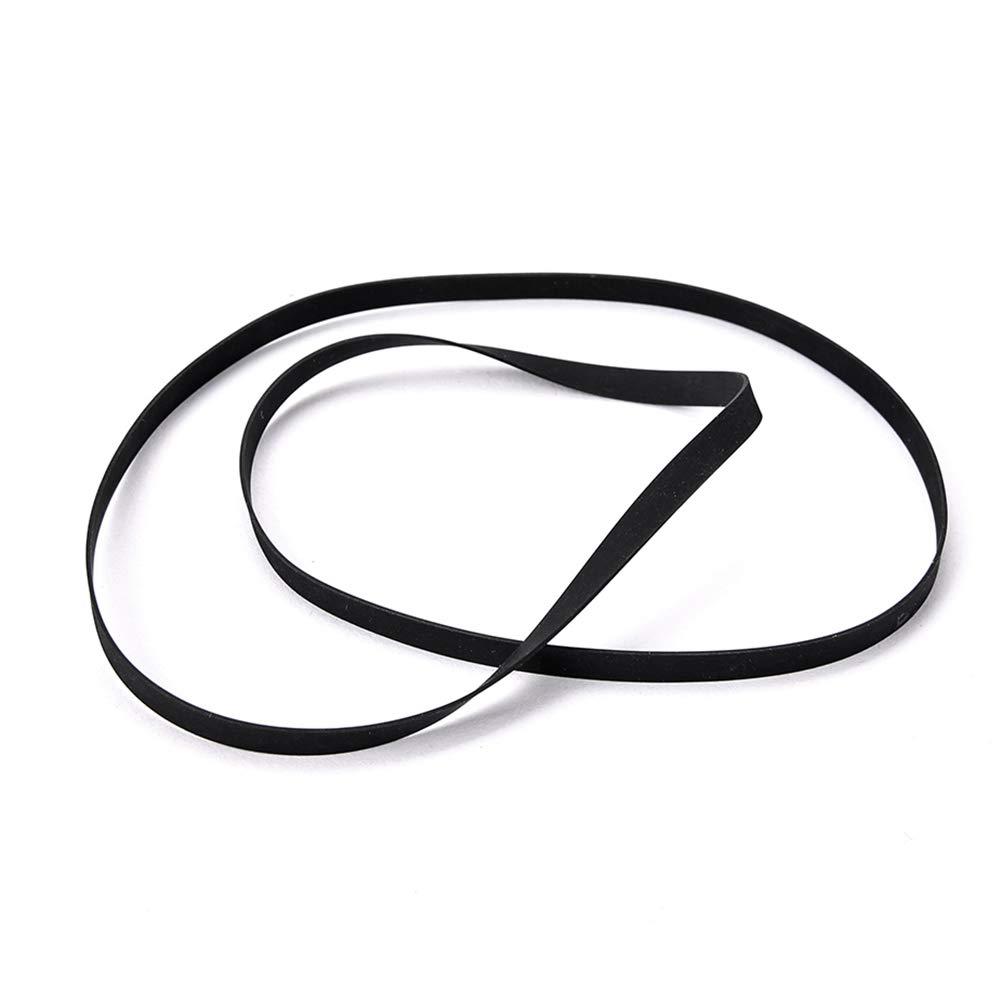 SUPVOX Cinturón giratorio de goma de 40 cm Cinturón tocadiscos para tocadiscos