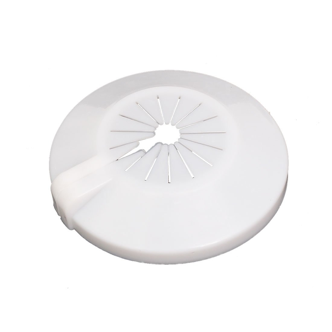 uxcell Universal 15mm-29mm Radiator Plastic Water Pipe Cover Collar White
