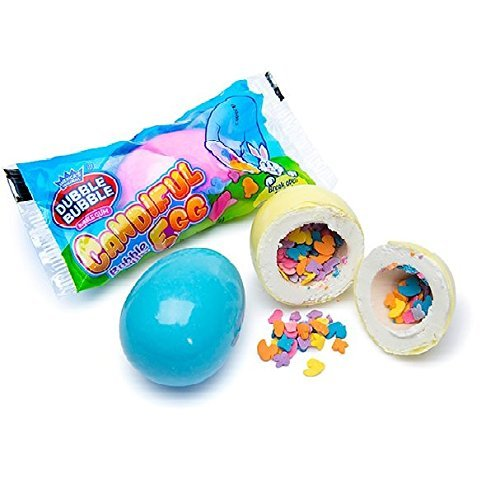 Dubble Bubble Large Gumball Candiful Candy Filled Egg, 2.89 oz, Pack of 2