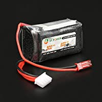 New XF Power 11.1V 600mAh 3S 30C Lipo Battery JST Plug By KTOY