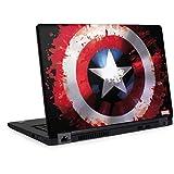 Skinit Decal Laptop Skin for Latitude 5490 - Officially Licensed Marvel/Disney Captain America Shield Design