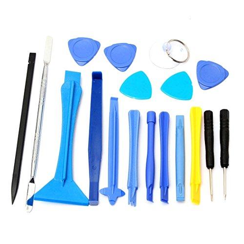 TOOGOO 18 IN 1 Mobile Repair Opening Tool Kit Set Screwdrive
