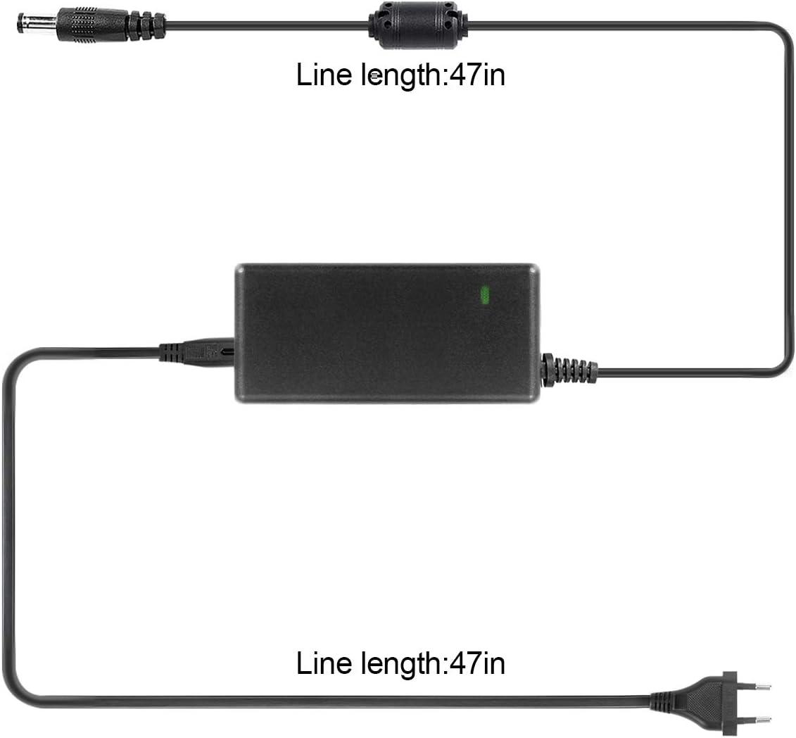 Fuente de alimentaci/ón conmutada LED 12 V, 5 A, CA 100-240 V a CC 12 V, transformador de conmutaci/ón 60 W m/áx., certificaci/ón CE//T/ÜV//GS Signcomplex