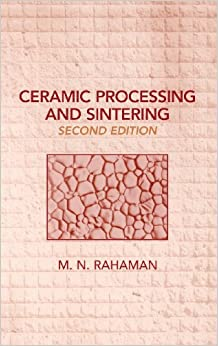 :ONLINE: Ceramic Processing And Sintering (Materials Engineering). Account Please wants Basler mother