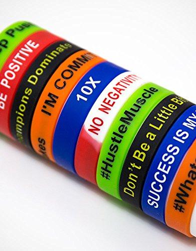 Grant Cardone Wristband Bracelets Set of 5