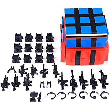 PeleusTech® DIY Toy Weapon Accessories Set for Military Minifigure, Small Particle Building Block