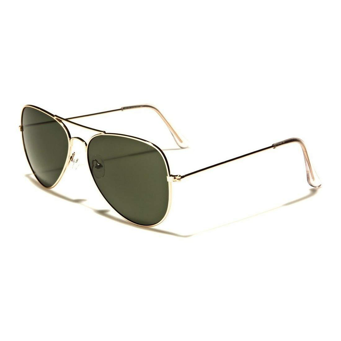 Retro Aviator Air Force Sunglasses Ultra Thin Rims Men Women Fashion Shades