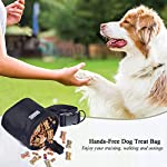 51u NxOTZTL. SS150  - Dog Treat Bag Hands-Free Puppy Training Pouch