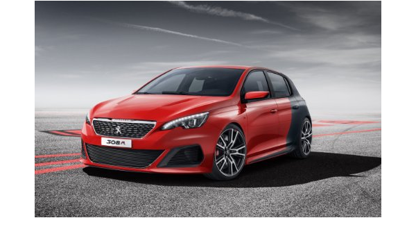 """PEUGEOT 308 R CONCEPT CAR A4 POSTER GLOSS PRINT LAMINATED 11.7""""x7.3"""""""