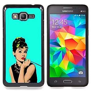 Stuss Case / Funda Carcasa protectora - Actriz fumadores famoso vintage - Samsung Galaxy Grand Prime G530H/DS