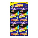 DDI - BAZIC 8 Color Premium Quality Crayon 4 Pk (1 pack of 72 items)
